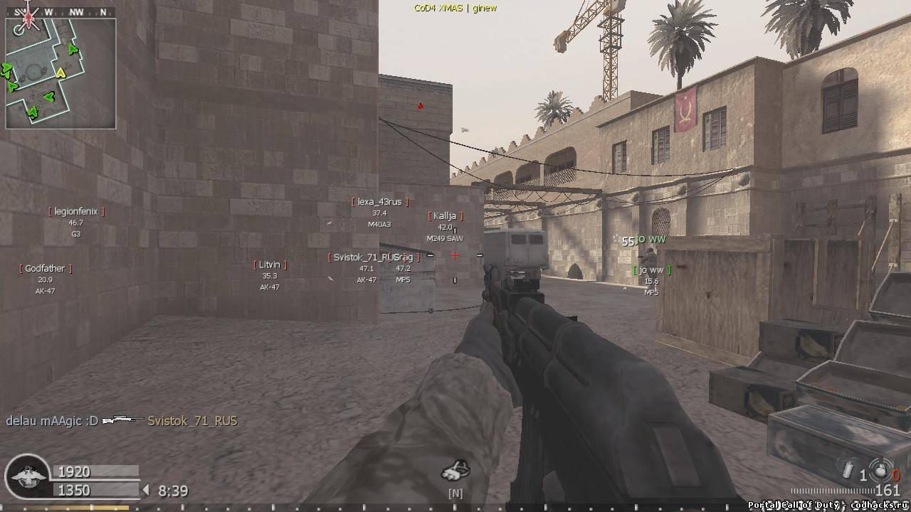 hack aimbot call of duty 4