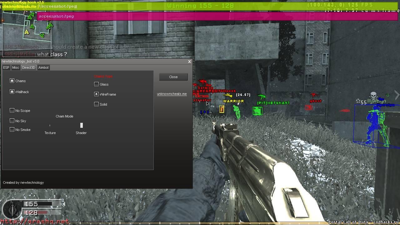 cod4 1.8 aimbot
