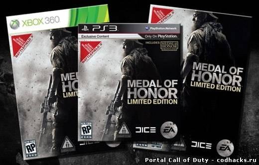 Ключ к бете Battlefield 3 в каждой копии MoH LE